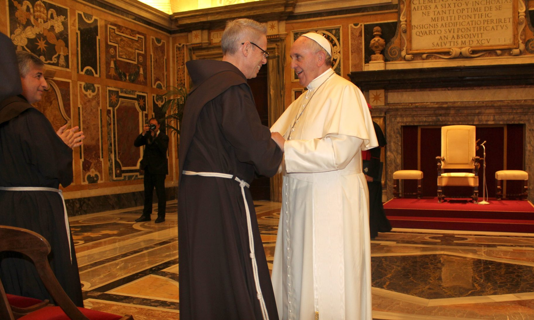 Pope and M. Perry OFM